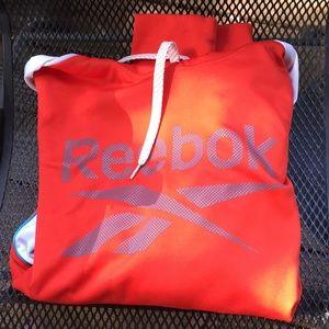 Red Reebok Hoodie